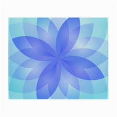 Abstract Lotus Flower 1 Glasses Cloth (Small, Two Sided)