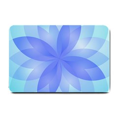 Abstract Lotus Flower 1 Small Door Mat