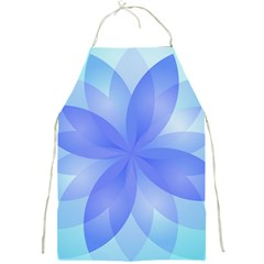 Abstract Lotus Flower 1 Apron