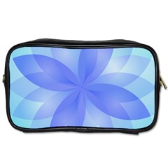 Abstract Lotus Flower 1 Travel Toiletry Bag (two Sides)