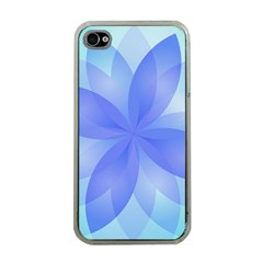 Abstract Lotus Flower 1 Apple iPhone 4 Case (Clear)