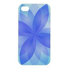 Abstract Lotus Flower 1 Apple iPhone 4/4S Hardshell Case