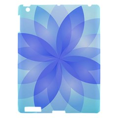 Abstract Lotus Flower 1 Apple iPad 3/4 Hardshell Case