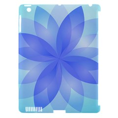 Abstract Lotus Flower 1 Apple iPad 3/4 Hardshell Case (Compatible with Smart Cover)