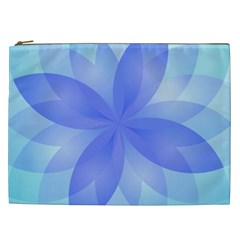 Abstract Lotus Flower 1 Cosmetic Bag (XXL)