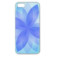 Abstract Lotus Flower 1 Apple Seamless iPhone 5 Case (Clear)