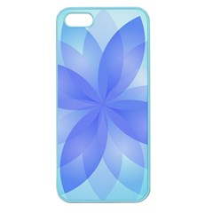Abstract Lotus Flower 1 Apple Seamless iPhone 5 Case (Color)