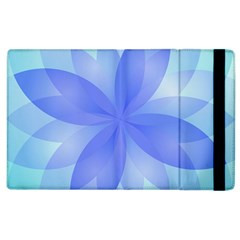 Abstract Lotus Flower 1 Apple Ipad 3/4 Flip Case