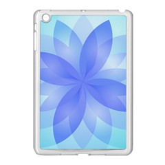 Abstract Lotus Flower 1 Apple Ipad Mini Case (white)