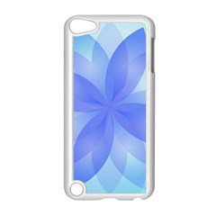 Abstract Lotus Flower 1 Apple Ipod Touch 5 Case (white)