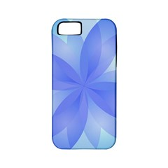 Abstract Lotus Flower 1 Apple iPhone 5 Classic Hardshell Case (PC+Silicone)