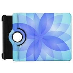 Abstract Lotus Flower 1 Kindle Fire Hd 7  (1st Gen) Flip 360 Case