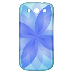 Abstract Lotus Flower 1 Samsung Galaxy S3 S III Classic Hardshell Back Case