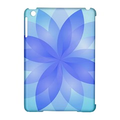 Abstract Lotus Flower 1 Apple Ipad Mini Hardshell Case (compatible With Smart Cover)