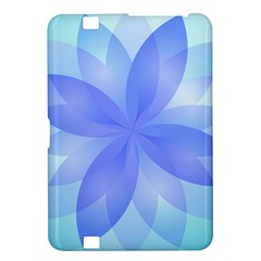 Abstract Lotus Flower 1 Kindle Fire Hd 8 9  Hardshell Case