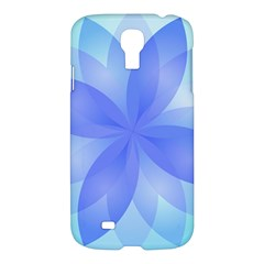 Abstract Lotus Flower 1 Samsung Galaxy S4 I9500/i9505 Hardshell Case