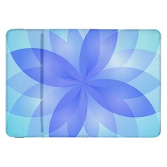 Abstract Lotus Flower 1 Samsung Galaxy Tab 8 9  P7300 Flip Case