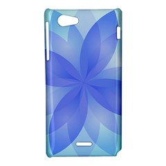 Abstract Lotus Flower 1 Sony Xperia J Hardshell Case