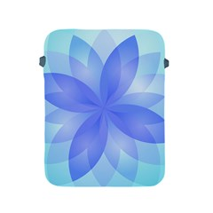 Abstract Lotus Flower 1 Apple iPad Protective Sleeve