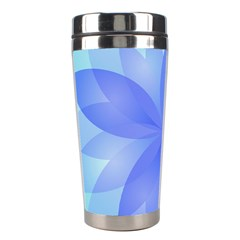 Abstract Lotus Flower 1 Stainless Steel Travel Tumbler