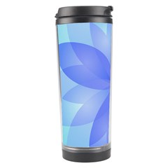 Abstract Lotus Flower 1 Travel Tumbler