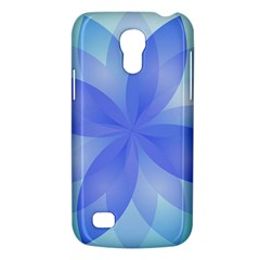 Abstract Lotus Flower 1 Samsung Galaxy S4 Mini (gt I9190) Hardshell Case