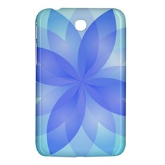 Abstract Lotus Flower 1 Samsung Galaxy Tab 3 (7 ) P3200 Hardshell Case