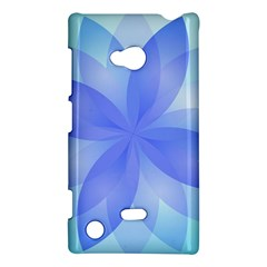 Abstract Lotus Flower 1 Nokia Lumia 720 Hardshell Case