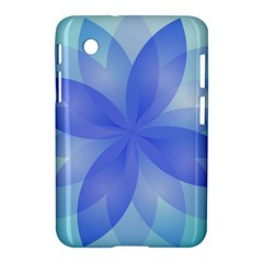 Abstract Lotus Flower 1 Samsung Galaxy Tab 2 (7 ) P3100 Hardshell Case