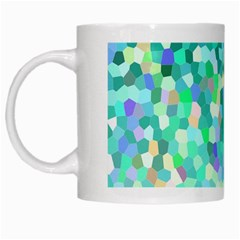 Mosaic Sparkley 1 White Coffee Mug