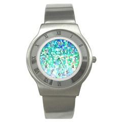 Mosaic Sparkley 1 Stainless Steel Watch (Slim)