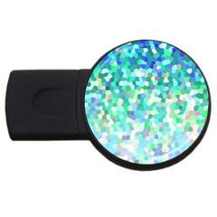 Mosaic Sparkley 1 4GB USB Flash Drive (Round)