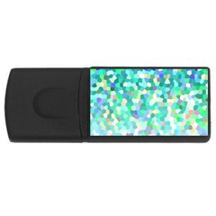 Mosaic Sparkley 1 4gb Usb Flash Drive (rectangle)