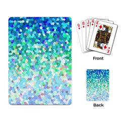 Mosaic Sparkley 1 Playing Cards Single Design