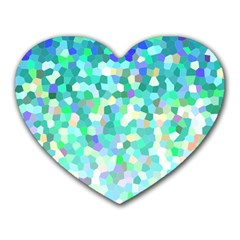 Mosaic Sparkley 1 Mouse Pad (Heart)
