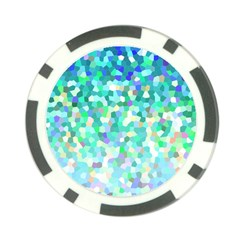 Mosaic Sparkley 1 Poker Chip