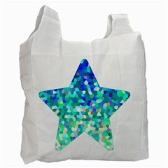 Mosaic Sparkley 1 Recycle Bag (two Sides)