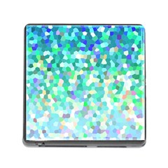 Mosaic Sparkley 1 Memory Card Reader with Storage (Square)