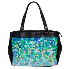 Mosaic Sparkley 1 Oversize Office Handbag (One Side)