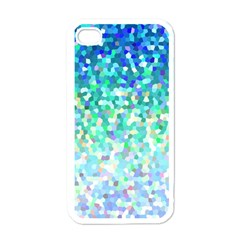 Mosaic Sparkley 1 Apple iPhone 4 Case (White)