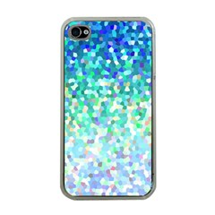 Mosaic Sparkley 1 Apple iPhone 4 Case (Clear)