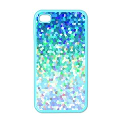 Mosaic Sparkley 1 Apple iPhone 4 Case (Color)