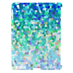 Mosaic Sparkley 1 Apple Ipad 3/4 Hardshell Case (compatible With Smart Cover)