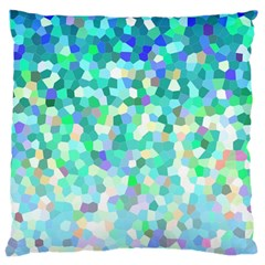 Mosaic Sparkley 1 Large Cushion Case (Single Sided)