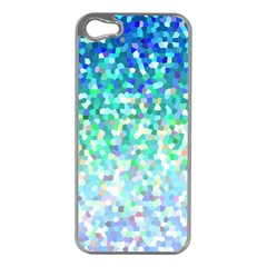 Mosaic Sparkley 1 Apple iPhone 5 Case (Silver)