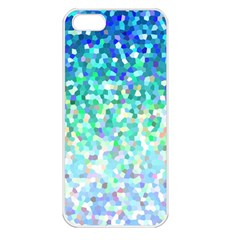 Mosaic Sparkley 1 Apple Iphone 5 Seamless Case (white)
