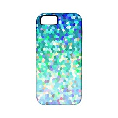 Mosaic Sparkley 1 Apple Iphone 5 Classic Hardshell Case (pc+silicone)