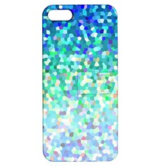 Mosaic Sparkley 1 Apple iPhone 5 Hardshell Case with Stand