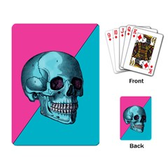 Funky Skull Playing Cards Single Design