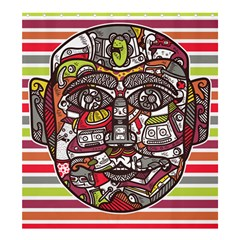 Mask Shower Curtain 66  x 72  (Large)